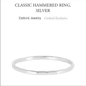 Catbird Classic Hammer Ring